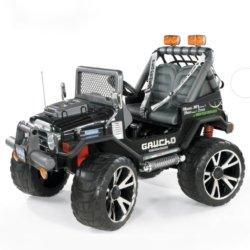 Электромобиль Peg-Perego Gaucho SuperPower NEW (2х местный, колеса накладка резина, скорость до 10 км/ч, музыка)